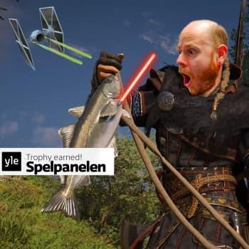 Spelpanelen: Nya Star Wars görs i Sverige och varför vi jagar fisktroféer i Valhalla