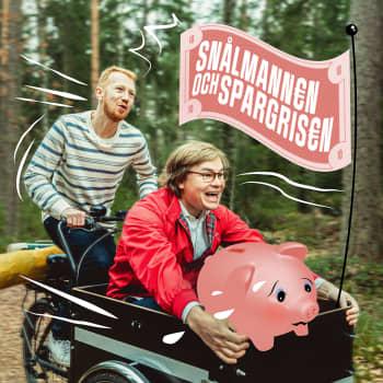 Elias och Joni öppnar sina bankkonton - så här mycket behöver de för att bli ekonomiskt oberoende