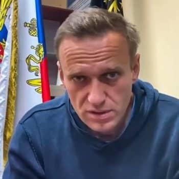 Kreml avfärdar kraven på att släppa Navalnyj