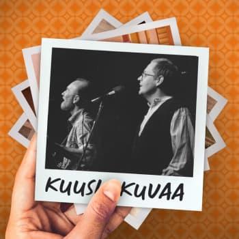 Kuusi kuvaa lauluntekijä ja muusikko Mikko Perkoilan elämästä