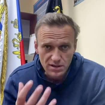 Niinistö och Putin talade om Navalnyj