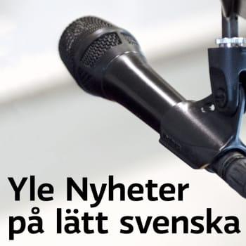 26.01.2021 Yle Nyheter på lätt svenska