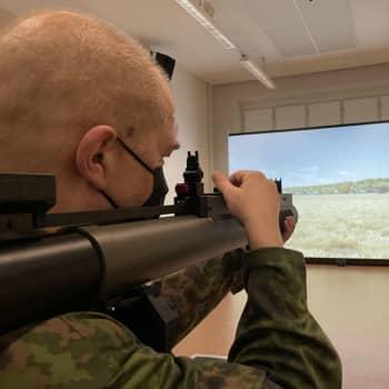 Ampumasimulaattorissa voidaan harjoitella millaisessa maisemassa tahansa