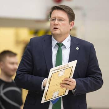KTP Basketin valmentaja Tomi Kaminen erosi yllättäen