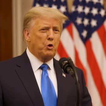 Donald Trump tänker inte vittna i riksrätten