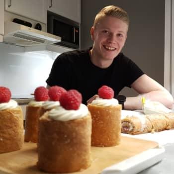 Porokuski, rekkamies Niko alkoi kehitellä omia leipomuksia jo pikkupoikana