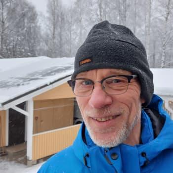 Aurinkopaneeli tuottaa sähköä helmikuussakin