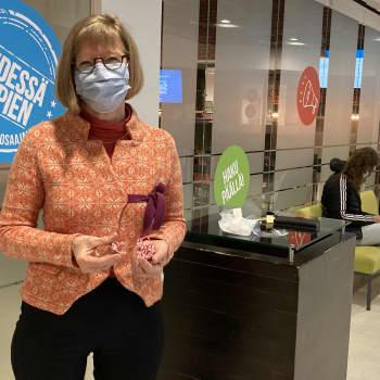 Keski-Pohjanmaan Ammattiopiston opiskelijat palkitaan karkilla ahkerasta maskin käytöstä