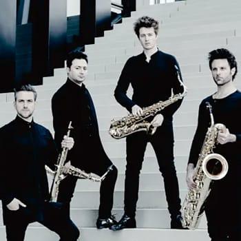 Signum Saxophone Quartet och WDR Funkhausorchester, dir. Boian Videnoff