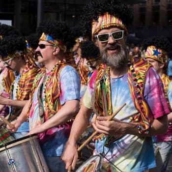 Alavudelta Rion karnevaaleille eli Sami Kontolan matkassa