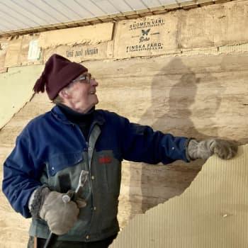 Toisen autiotalo on toisen tuleva koti - Luopioisissa siirrellään taloja ja rakennetaan torppakylää talkoovoimin