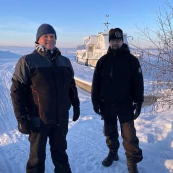 Ammattikalastaja ei kavahda pakkasta eikä jäätä – Lauri Halonen kertoo, millaista kalaa Perämerestä nousee näin sydäntalvella