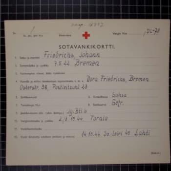 Kauhavan unohdettu internointileiri - Paapeli 1944