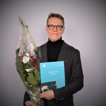 Kitaristi Petri Kumelan Small creatures – a musical bestiary on Ylen klassisen musiikin Vuoden levy 2020