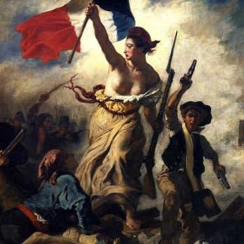 Ranskan vallankumous katutasolta koettuna - voiko sitä verrata Capitolin barbaariseen valtaukseen?