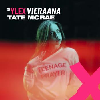 """Tate McRae vieraana: """"En ikinä mene sessioihin ajatellen, että nyt kirjoitan pop-kappaleen"""""""