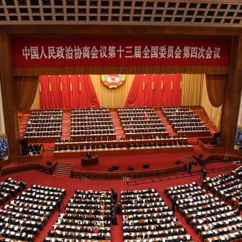 Kinesiska folkkongressen möts just nu