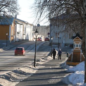 Arbetsplatser och vindkraft engagerar Kristinestadsborna inför kommunalvalet