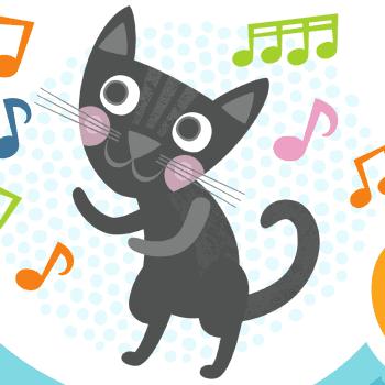 100 lastenlaulua: The Bätmäns: Mustan kissan tango