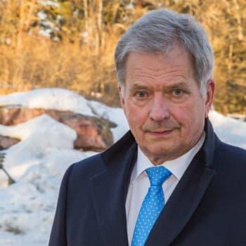 President Niinistö stöder beslutet att flytta kommunalvalet