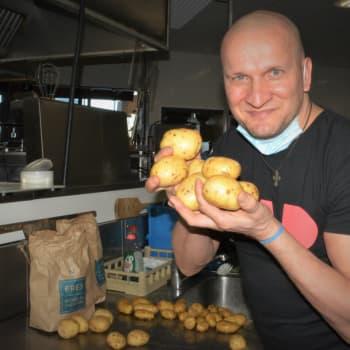 Michelin-kokki Sauli Kemppainen antaa perunatasting-vinkkinsä ja kertoo hyvän muusin salaisuuden