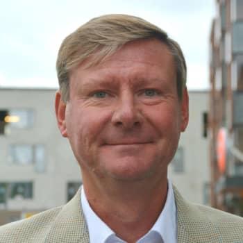 Kommundirektör Mikael Grannas: Mina steg sjönk med 90 procent, från 8000 till 800