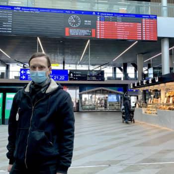 """90% eller fler har munskydd i bussen i Helsingforsregionen - HRT: """"Vi gör så mycket vi kan baserat på lagen"""""""