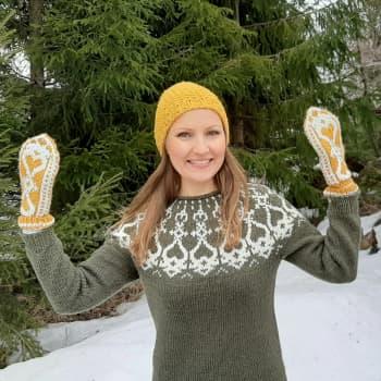 Strömsö-villapaidasta tuli kevään hitti, ja niitä neulotaan jo ulkomaillakin!