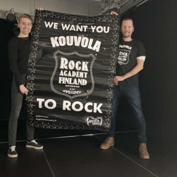 Rock Academy Kouvola kannusti paikallisia bändejä luottamaan tekemiseensä