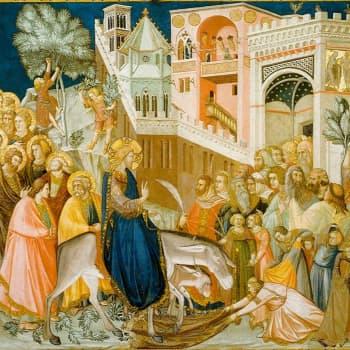 Palmusunnuntain musiikkia ja   Assisin freskoja