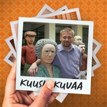 Kuusi kuvaa museonjohtaja Pauli Sivosen elämästä