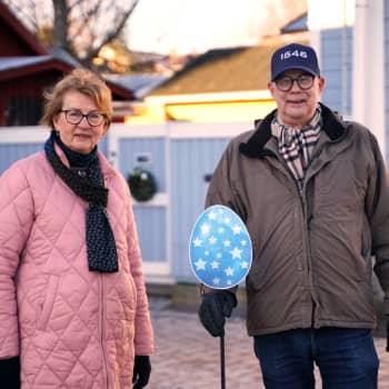 Föreningen Gamla stan i Ekenäs gömmer granna påskägg i historisk miljö - din uppgift blir att hitta dem