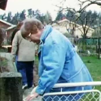 I trädgården med Aagot Jung och Udo Drude