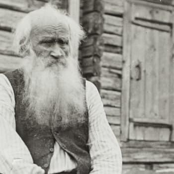 Petri Shemeikka lausuu tulen loitsun (taltioitu vuonna 1905)