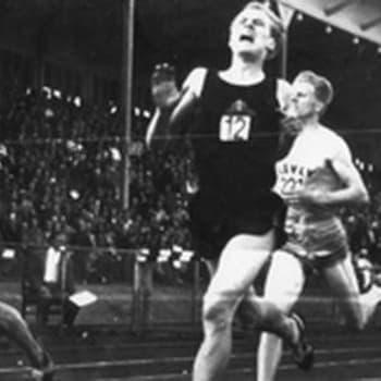 Olavit keskustelevat vuoden 1957 ME-juoksustaan (1988)