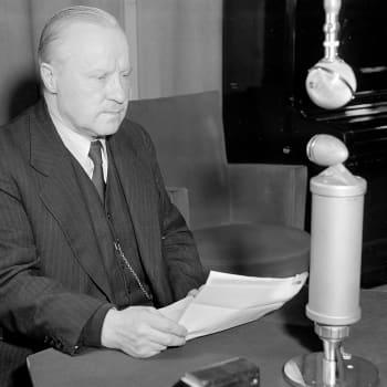 Ulkoministeri Väinö Tannerin puhe talvisodan rauhasta (1940)
