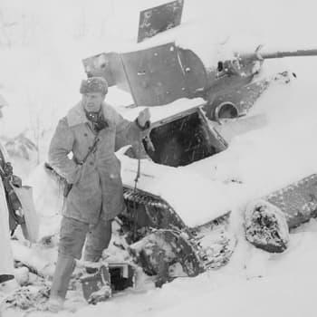 Rintamahaastatteluja Laatokan pohjoispuolella - JR 34 Kollaalla (1939)