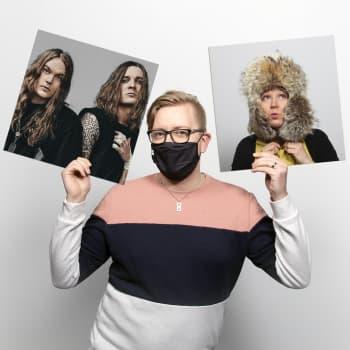 Varaslähtö Euroviisuihin, Blind Channel uutta musaa ihmettelemässä!