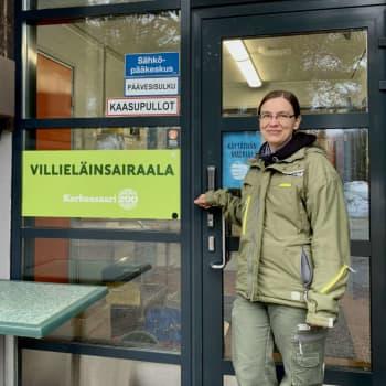 """Fågelinfluensa stängde Högholmens djursjukhus för sex veckor: """"Det fanns en hel del att tänka på"""""""