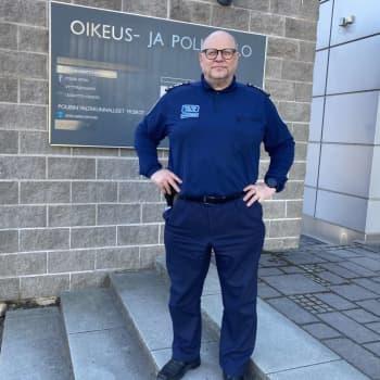 Kansalaisten luottamus poliisiin on kaiken perusta - sanoo Kaakon uusi poliisipäällikkö Ari Karvonen
