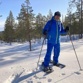 Lasse Hoikan vuosi on mennyt harrastusten parissa - Lapin luonto ja lumikengät ovat laulajan henkireikä