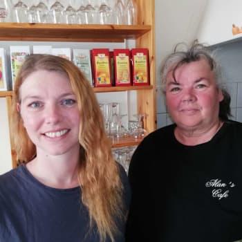 Alan´s café i Hangö slog igenom med smörrebröd