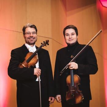 Isä ja poika samassa orkesterissa – Jyrki ja Erkki Lasonpalo