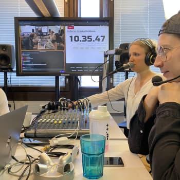 Nuorten tekijöiden Radio Jauho on kuunneltavissa Hämeenlinnan seudulla vielä toukokuun loppuun asti