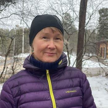 Piälbáájäävri meccikirho puátteevuođâ vuáváámijn Eija Ojanlatva