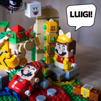 Nintendo gör en fuling: Mariodocka ropar efter Luigi som lanseras snart