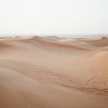Mitä tapahtuu kun sora ja hiekka loppuvat?