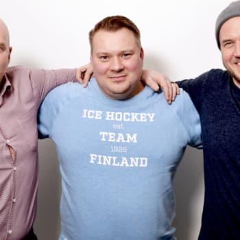 Vieraana jääkiekkoliiton huippu-urheilujohtaja Rauli Urama