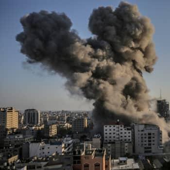 """Israelin ja Gazan kaistaleen konfliktissa ollaan taas """"jälleen veitsen terällä"""""""