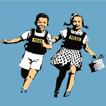 Banksy vihaa museoita - Silti Banksyn taide saapuu Serlachiukseen
